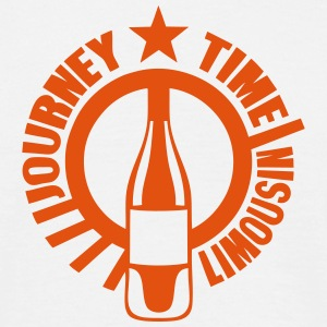 limousin journey time alcool bouteille Tee shirts - T-shirt Homme