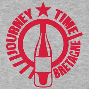 bretagne journey time alcool bouteille Sweat-shirts - Sweat-shirt Homme