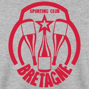 bretagne sporting club alcool bouteille Sweat-shirts - Sweat-shirt Homme