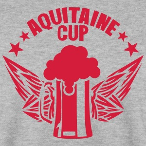 aquitaine cup biere logo alcool humour Sweat-shirts - Sweat-shirt Homme