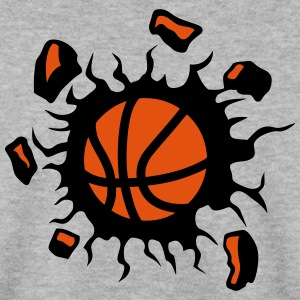 basketball ballon explosion destruction Sweat-shirts - Sweat-shirt Homme