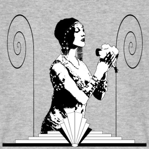 Art Deco Dancer T-Shirts - Men's Organic T-shirt