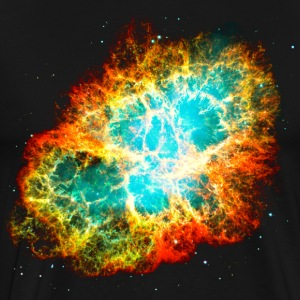 Supernova, Crab Nebula, Space, Galaxy, Milky Way - Männer Premium T-Shirt