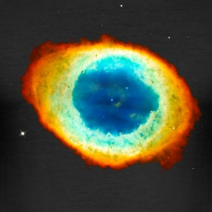 Helix Nebula, Eye of God, Aquarius, Space, Galaxy  Camisetas - Camiseta ajustada hombre