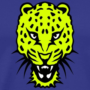 panthere leopards animaux tete 16102 z Tee shirts - T-shirt Premium Homme