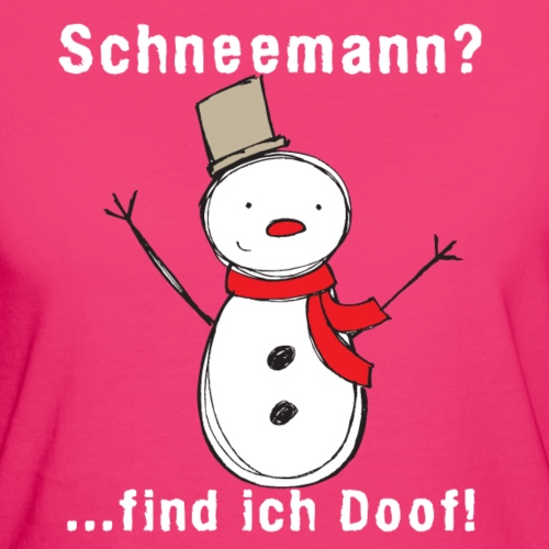 Schneemann_find_ich_doof