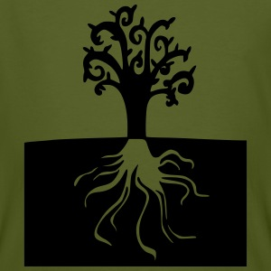 Rooted tree - Men's Organic T-shirt