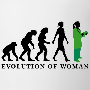 evolution_of_woman_female_doctor_112014_ Tassen & Zubehör - Tasse