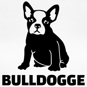 Bulldogge T-Shirts - Frauen T-Shirt