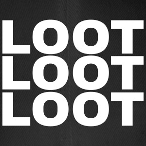 Loot Loot Loot Caps & Hats - Flexfit Baseball Cap