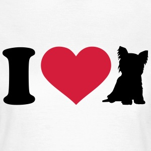 I love Yorkshire T-Shirts - Frauen T-Shirt