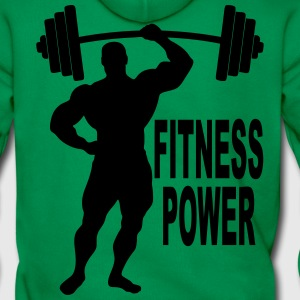 fitness power 03 Hoodies & Sweatshirts - Men's Premium Hoodie