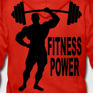 fitness power 03 Sweat-shirts - Veste à capuche Premium Homme