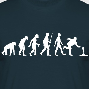 Evolution Stockschiessen - Männer T-Shirt