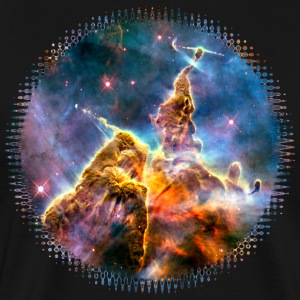 Space, Galaxy, Universe, Cosmos, Milky Way T-Shirt - Men's Premium T-Shirt
