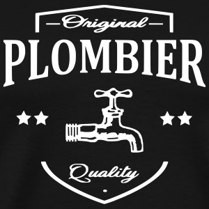 Plombier Tee shirts - T-shirt Premium Homme