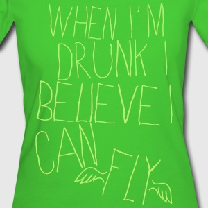 FLYING DRUNK MAN Tee shirts - T-shirt Bio Femme