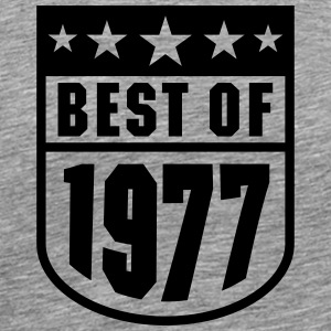 Best of 1977 T-shirts - Mannen Premium T-shirt