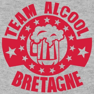 bretagne team alcool biere logo Sweat-shirts - Sweat-shirt Homme