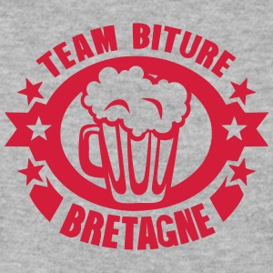 bretagne team biture biere logo Sweat-shirts - Sweat-shirt Homme