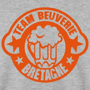 bretagne team beuverie biere logo Sweat-shirts - Sweat-shirt Homme