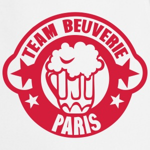 paris team beuverie biere logo Tabliers - Tablier de cuisine
