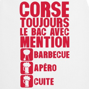 corse mention bac barbecue apero cuite 1 Tabliers - Tablier de cuisine