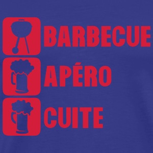 barbecue apero cuite bac 1010 Tee shirts - T-shirt Premium Homme