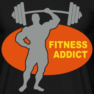 fitness addict 05 T-Shirts - Men's T-Shirt