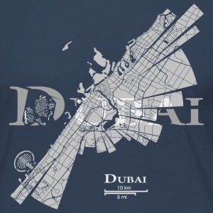 Dubai Map Long Sleeve Shirts - Women's Premium Longsleeve Shirt