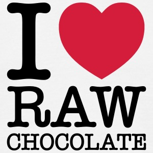 I Heart Raw Chocolate Camisetas - Camiseta hombre