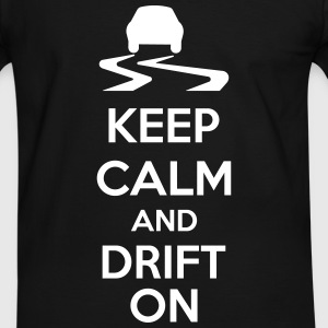Keep Calm And Drift On Camisetas - Camiseta contraste hombre