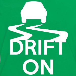 Drift On T-shirts - Kontrast-T-shirt dam