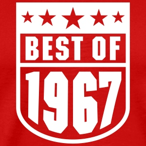 Best of 1967 T-shirts - Herre premium T-shirt