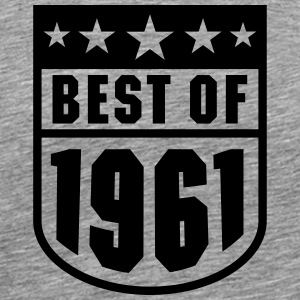 Best of 1961 Tee shirts - T-shirt Premium Homme