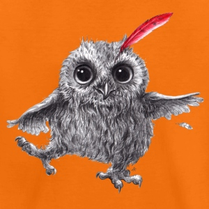 Chief Red - Happy Owl - Premium-T-shirt tonåring