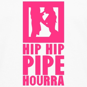 hip hip pipe hourra 1 Manches longues - T-shirt manches longues Premium Homme