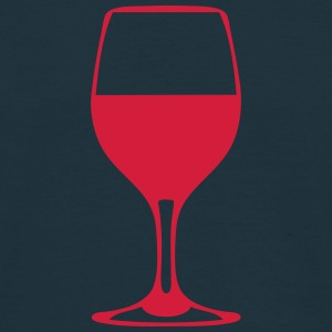 verre vin alcool 610 Tee shirts - T-shirt Homme