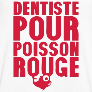 dentiste pour poisson rouge expression 1 Tee shirts - T-shirt Homme col V