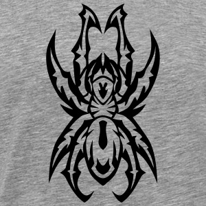 Tribal Tattoo Spinne 310 T-Shirts - Männer Premium T-Shirt