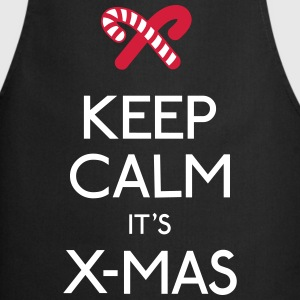 keep calm x-mas  Aprons - Cooking Apron