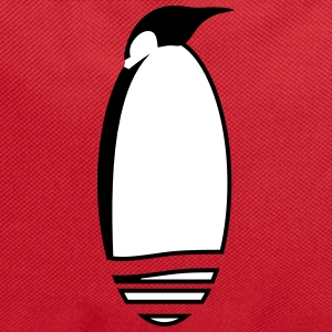a stylized penguin Bags & Backpacks - Backpack