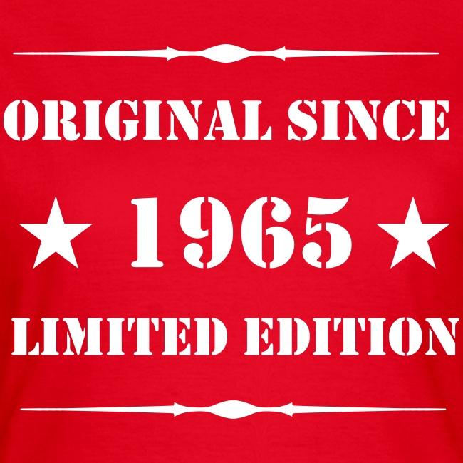 Girls Shirt mit Aufdruck, 1965 Limited Edition