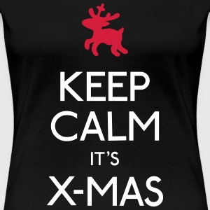 Keep Calm X-mas T-Shirts - Frauen Premium T-Shirt
