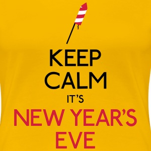 keep calm new year garder calme nouvel an Tee shirts - T-shirt Premium Femme
