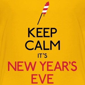 keep calm new year garder calme nouvel an Tee shirts - T-shirt Premium Ado