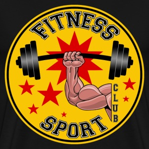 fitness sport club T-Shirts - Men's Premium T-Shirt