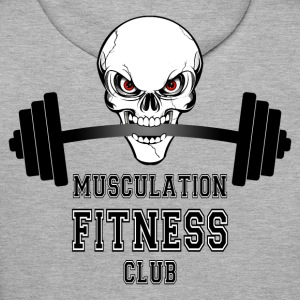 musculation fitness club Sweat-shirts - Sweat-shirt à capuche Premium pour hommes