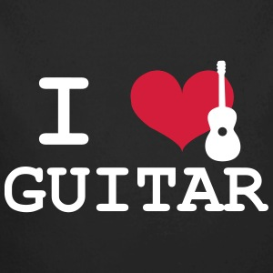 I Love Guitar Pullover & Hoodies - Baby Bio-Langarm-Body
