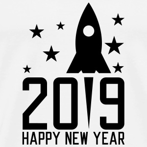 Happy New Year 2019 T-shirts - Mannen Premium T-shirt